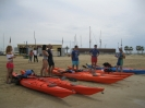 Curso de Kayak de mar nivel iniciación